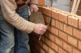 J.L. contractor bricklaying