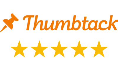 Thumbtack five stars rating logo